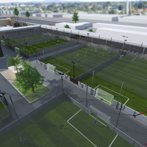 US5Center provides European state of the art soccer facilities